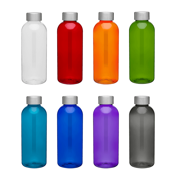 Plastic Hip Bottle 20.9 oz