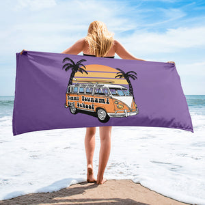 Purple Beach Towel - Limited Edition Design