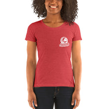 Load image into Gallery viewer, Ladies' Classic Short-Sleeve T-Shirt w/ White Logo