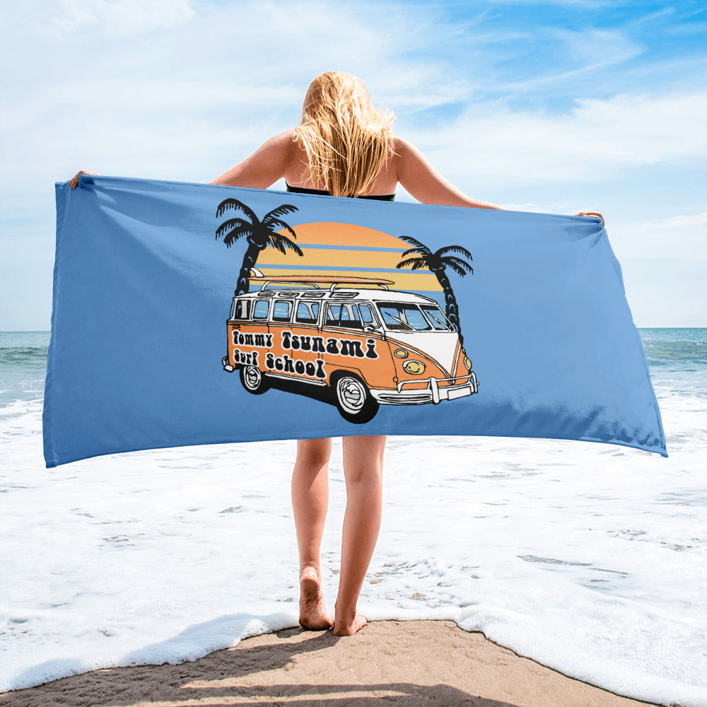 Blue Beach Towel - Limited Edition Design