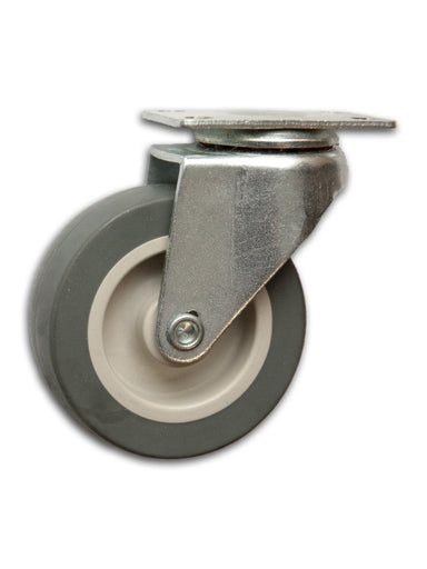 "2-1/2"" Swivel Poly-Pro Caster with Top Plate"