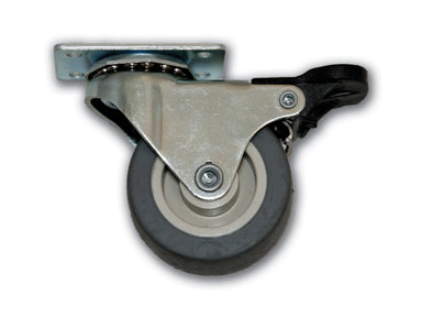 "2"" Swivel Thermo-Pro Caster with Top Plate & Top Lock Brake"
