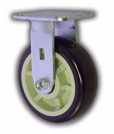 "6"" Swivel Caster Poly/Poly Wheel"