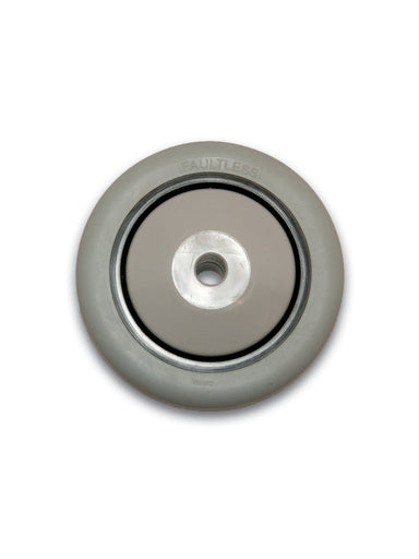 "3-1/2"" x 1-1/4"" Thermoplastic Rubber (TPR) Wheel"