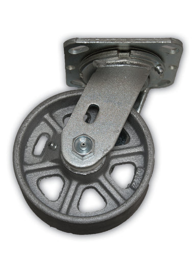 "5"" Swivel Caster Cast Iron Wheel"
