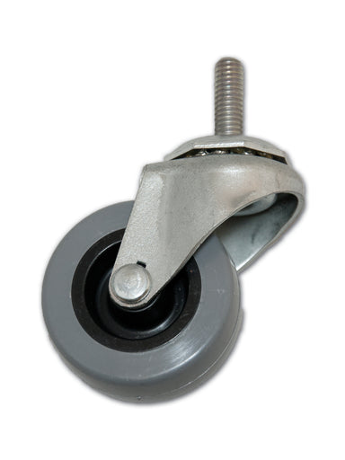 "2"" Swivel Polyurethane Caster with 5/16"" x 1"" Stem"