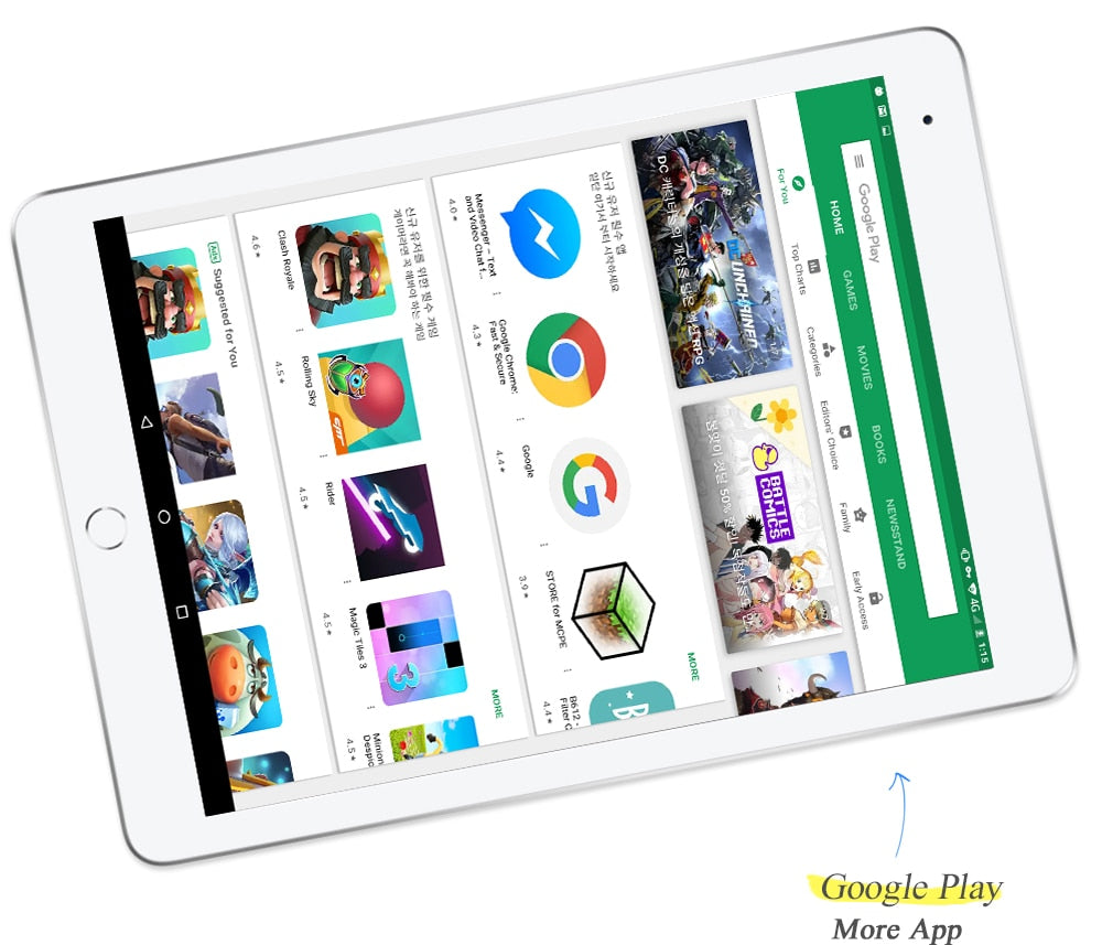 Original Powerful Core Android Tablet