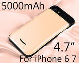 7500mAh Battery Phone Case for iPhone 6 7 Plus