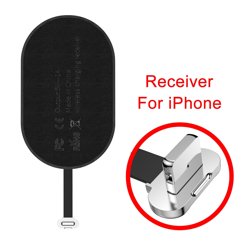 Charging Receiver For Wireless Phone Charging