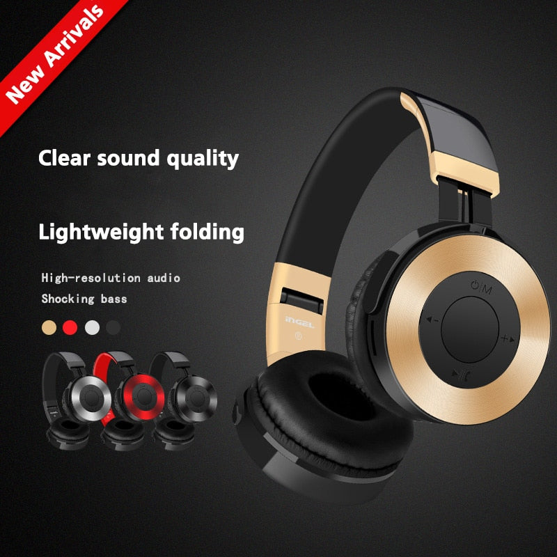 Foldable Wireless Multi Gaming Headset