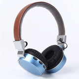 Leather Strap Retro Headset