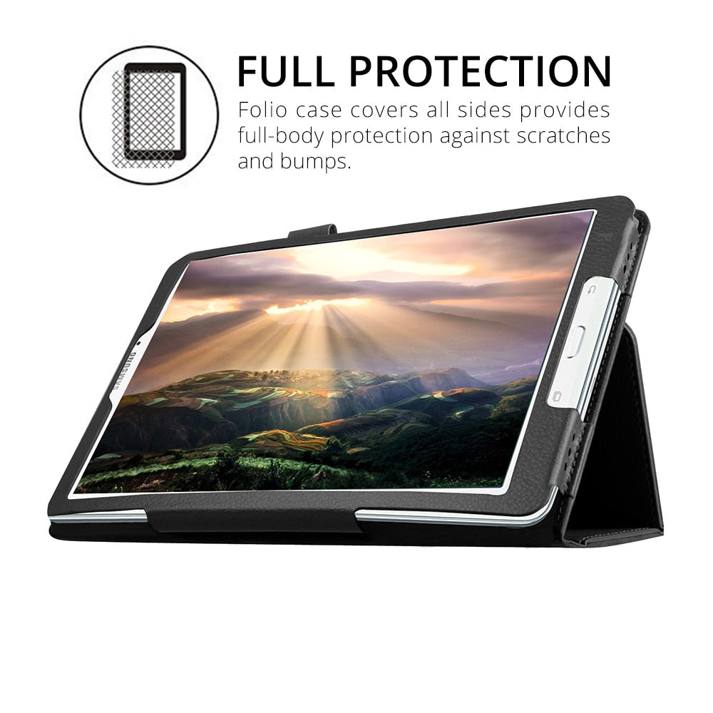 Smart Leather Tablet Case For Samsung Galaxy Tab