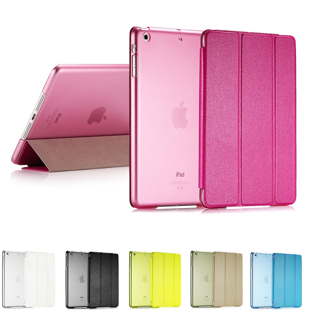 Smart Flip Leather Cover Case For Apple iPad