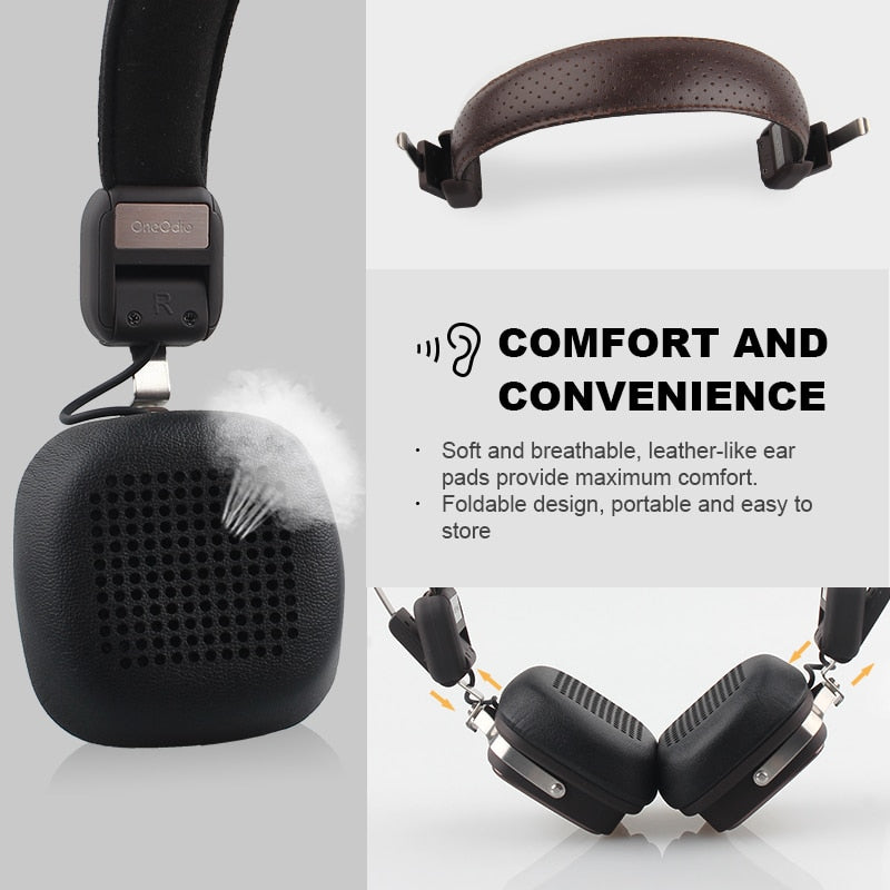 Breathable Design Headphones