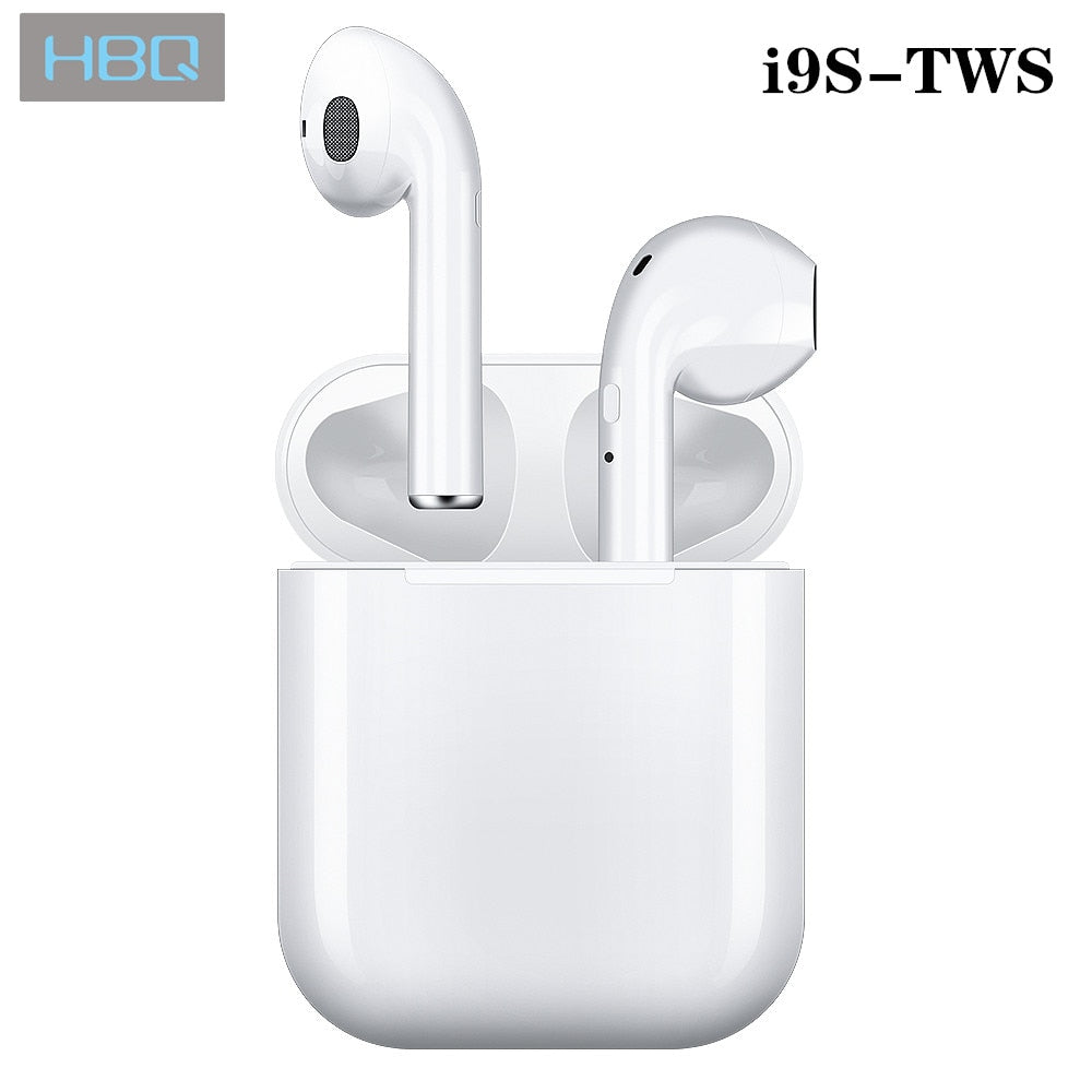 White Air Pods With Charging Station
