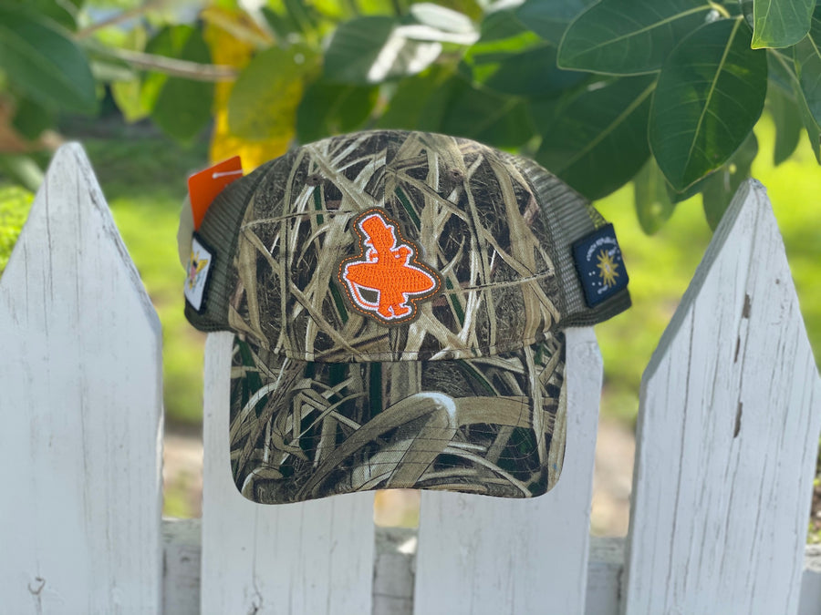 Low Pro - Camo and Orange