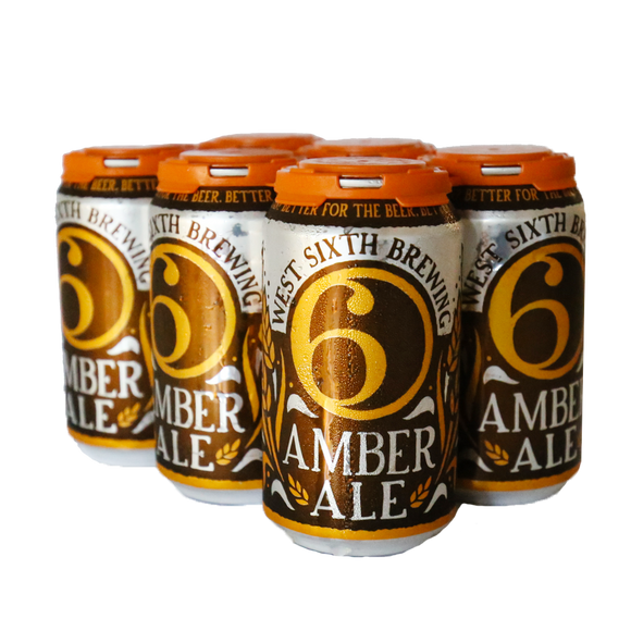 West Sixth Amber - 6-pack cans