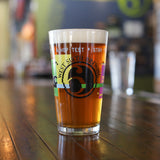 West Sixth Hop Static Pint Glass