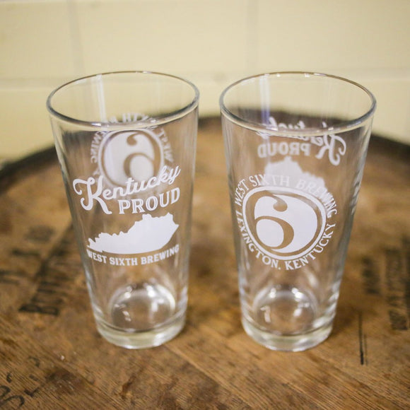 Kentucky Proud Jumbo Pint Glass
