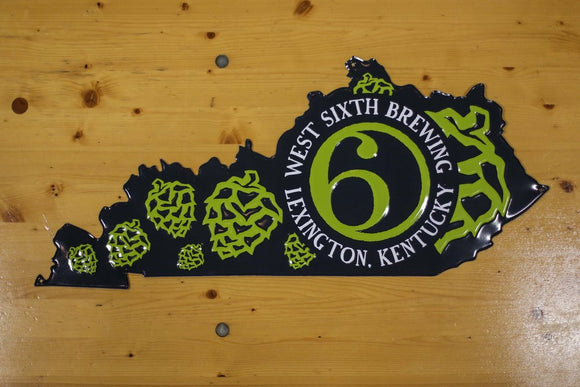Metal Sign - Kentucky Hops