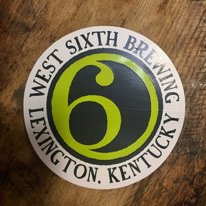 West Sixth Logo Sticker