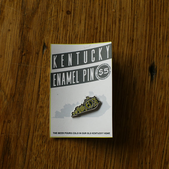 Kentucky Hops Enamel Pin