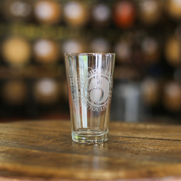West Sixth Classic Pint Glass