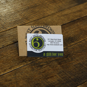 Taprooms and Farm Gift Card