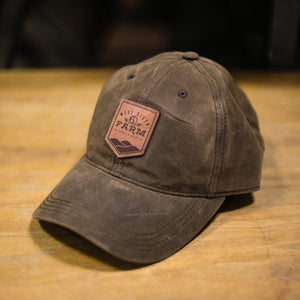 Waxed Cotton Farm Hat