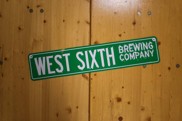 West Sixth Street Sign