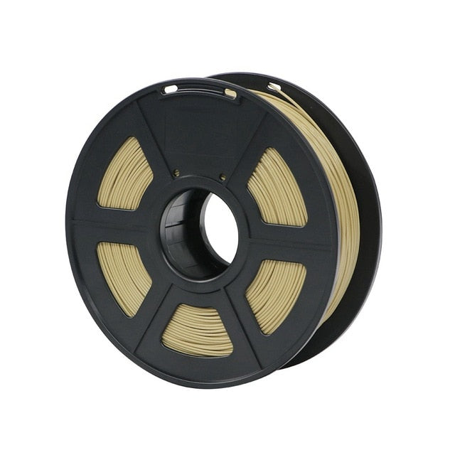 pla plastic filament anycubic brown