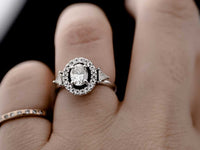 diamond engagement ring by Daisy Knights