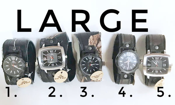 Mens Large Watches