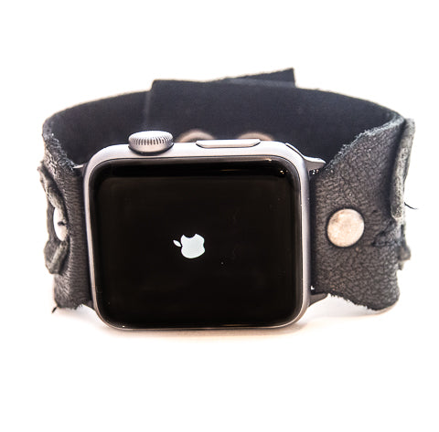 Black Magic Classic Apple Watch Strap