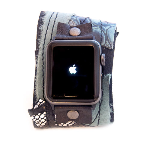 Rock N Wild Wide Apple Watch Strap
