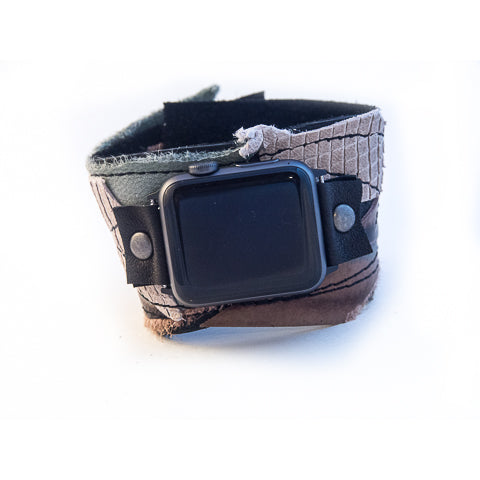 Twisted Tuscan Wide Apple Watch Strap