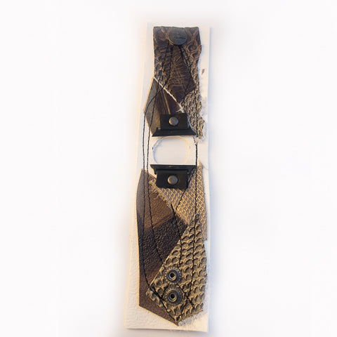 Copper Couture Wide Apple Watch Strap