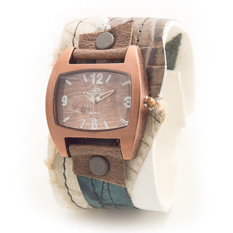 Truly Trendy Wide Cuff Watch