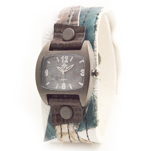Truly Trendy Narrow Cuff Watch