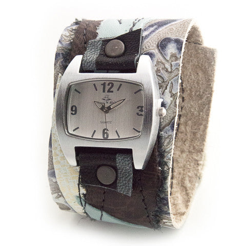 Breezy Bohemian Wide Cuff Watch