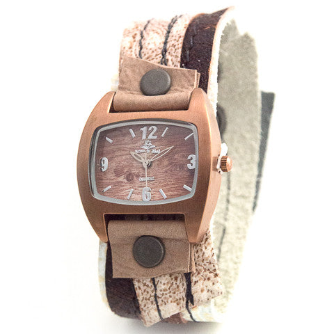 Copper Couture Narrow Cuff Watch