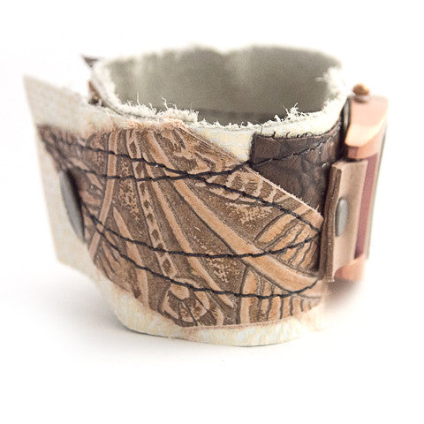 Copper Couture Wide Cuff Watch