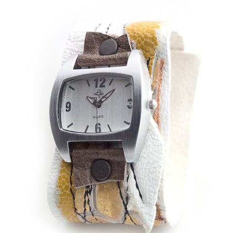 Sweet n Sassy Wide Cuff Watch