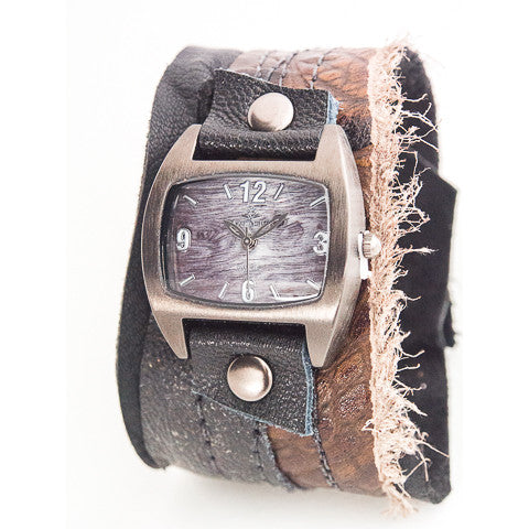 Naturally Haute Wide Cuff Watch