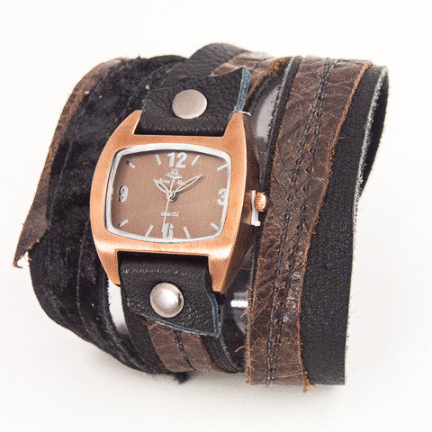 Naturally Haute Triple Wrap Watch