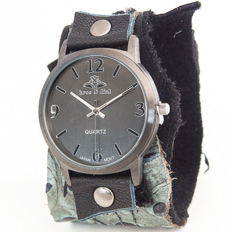 Rock'n Wild Wide Cuff Watch