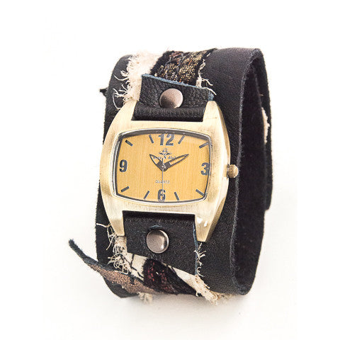 Mystic Metallic Wide Cuff Watch