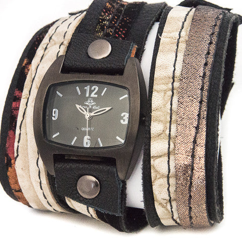 Mystic Metallic Triple Wrap Watch