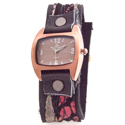 Mystic Metallic Narrow Cuff Watch