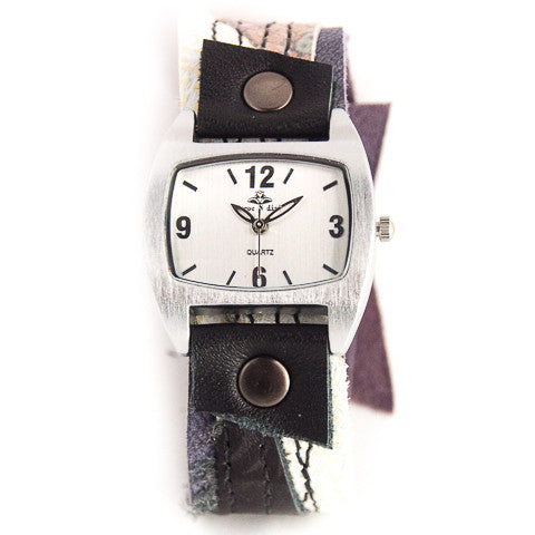 Pretty Paisley narrow Cuff Watch
